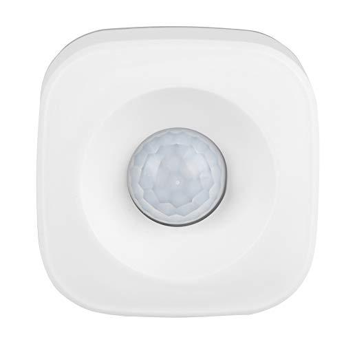 Kafuty PIR Bewegungssensor, WiFi Smart Home Security Einbruchalarmsensor, kabelloser Echtzeit Überwachungserkennungssensor, hohe Empfindlichkeit, kostenloser APP Modus für den Innen und Außenbereich