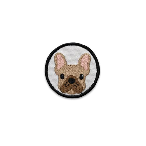 K9 Sport Sack Velcro Dog Patch for Dog Carrier Backpack (Frenchie - White)