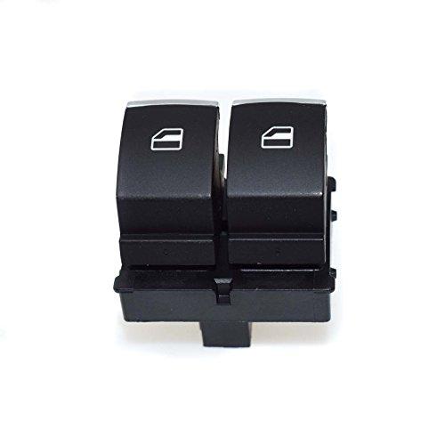 Nouveau Bouton de Commande de commutateur de Panneau de fenêtre d'alimentation Principale côté conducteur 5K3959857 pour VWS Golf GTI EOS 2 Portes 10 11 12 13 14