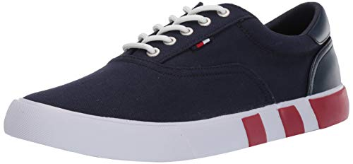 Price comparison product image Tommy Hilfiger Men's Rasser Sneaker,  Navy,  10 M US