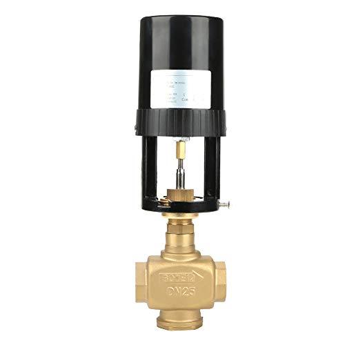 Válvula eléctrica Válvula reguladora de autoprotección de 2 vías con escala de carrera para aire acondicionado central, calefacción