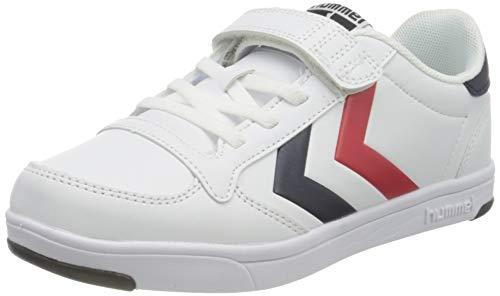 hummel Unisex-Kinder Stadil Light Quick JR Sneaker, White,28 EU