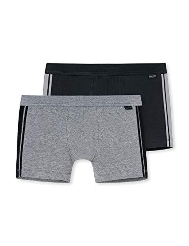 Schiesser Herren Shorts 2er Pack, Mehrfarbig (sortiert 1 901), X-Large (Herstellergröße: 007)