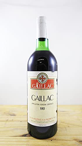 Wein Jahrgang 1983 Gaillac Flasche