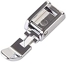 YRDQNCraft Zipper Sewing Machine Presser Foot for Low Shank Snap on Singer Brother Babylock Janome Kenmore White Juki New Home Simplicity Elna Husqvarna Janome Bernina