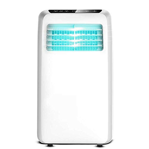 Lapden 8,000 BTU Portable Air Conditioner with Built-In Dehumidification Function for Hoom To 200 Square Feet, Silent AC Unit, Remote Control, Full Window Installation Exhaust Kit