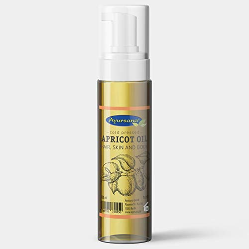 Aprikosenkernöl - Apricot Oil (100 ml) | Für die Pflege von Haare, Haut und Körper | Kaltgepresst und hoher Gehalt an Vitamin E | Aus deutscher Herstellung