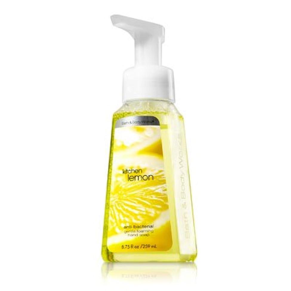 電気技師元気定数バス&ボディワークス キッチンレモン ジェントル フォーミング ハンドソープ Kitchen Lemon Gentle Foaming Hand Soap【並行輸入品】