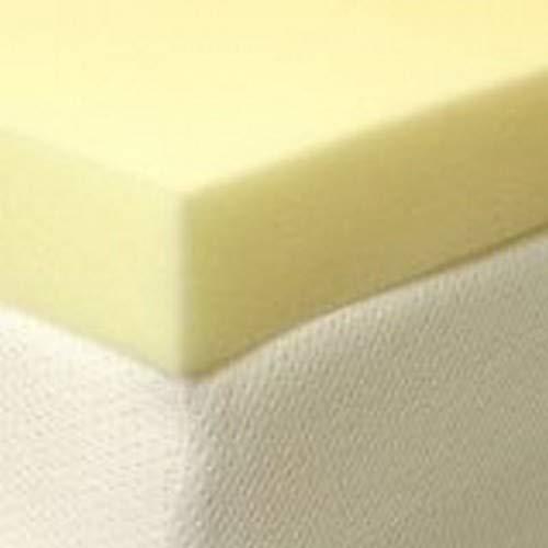 Memory Foam Warehouse–3ft Single 10cm cm 45kg Memoria colchón de Espuma Topper