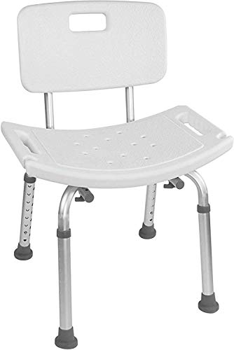風呂椅子 バスチェア 介護用品 お風呂 シャワー チェア 背もたれ付 高さ7段階調節 高齢者 身体障害者に 妊婦入浴介助 浴室 イス 伸縮式 アルミ合金パイプ コンパクト 組み立て簡単 工具不要 (タイプ2)