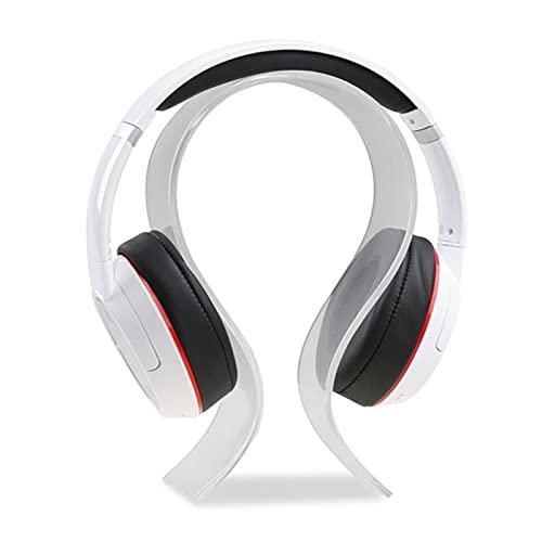 El soporte para auriculares es adecuado para auriculares de estudio, juego de auriculares, soporte de exhibición es adecuado para todos los auriculares
