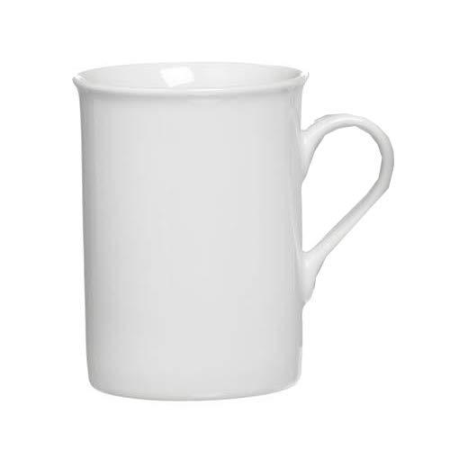 Snap by R&B Kaffeebecher - 078169 , Porzellan, weiß, 300 ml