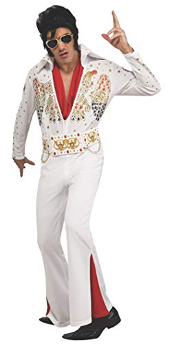 Rubie's mens Deluxe Aloha Elvis Adult Sized Costumes, White, Small US - http://coolthings.us