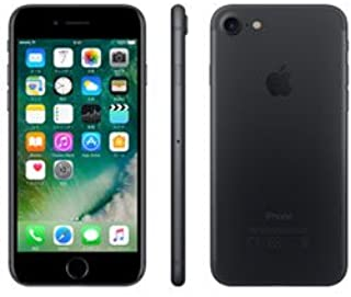 【SIMロック解除済】 Apple iPhone7 32GB ブラック Softbank