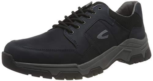 camel active Herren Zodiac Sneaker, Navy Blue, 43 EU