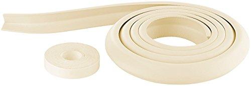 infactory Tischkantenschutz: Universal-Schaumstoff-Kantenschutz, L-Profil, 2 m, zuschneidbar, beige (Kantenschutz Baby)