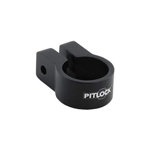 Pitlock Sattelklemme für Schnellspanner, Schwarz, 28,6mm