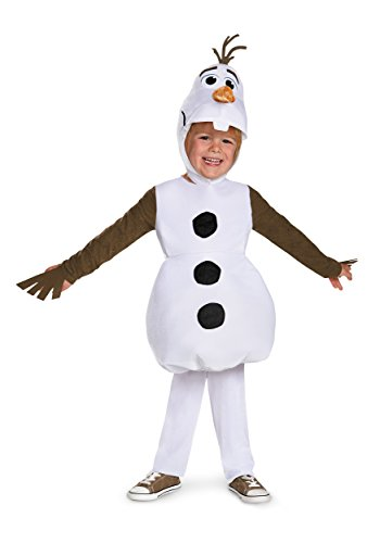 Infant and Toddler Frozen Classic Olaf Costume 12/18 Months White