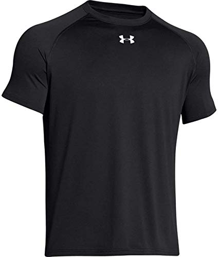 Under Armour Locker –Camiseta de manga corta para hombre - 1268471-001-LG, Large, Negro
