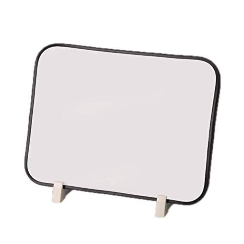 Tablero de Dibujo Portátil Borreable de Doble Cara Graffiti Tablero Tipo de Soporte Tipo de Hogar para niños Tablero de Dibujo para Escritura Tableta de Escritura (Color : Black 35cmx45cm)