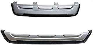 Hi Art Custom Fit Front and Rear Bumper Cladding Compatible with Toyota Fortuner (2019-2020)