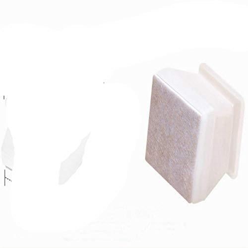 HJKHJK Nytt uppgraderat möbelskydd med filt stolsben kepsar silikon golvskydd botten stol fötter dyna kvadrat 16 st