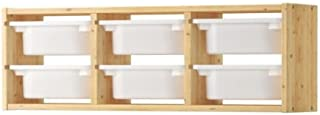 ★トロファスト / TROFAST ウォール収納 / パイン材 / ホワイト[イケア]IKEA(S29873011)