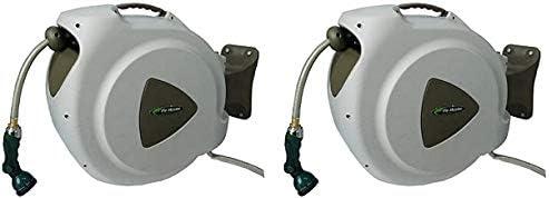 popular RL Flo-Master 65HR8 Retractable Hose outlet online sale Reel, online sale 65 Feet, Brown (2) online