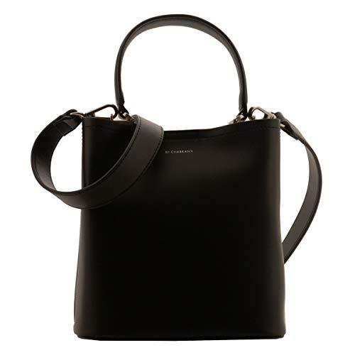 Chabrand [R1646 - Sac créateur noir - 23x22x12.5 cm