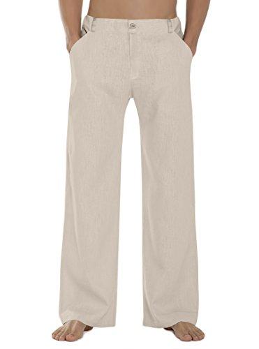 SCHAZAD Leinenhose Approval (XL, beige)