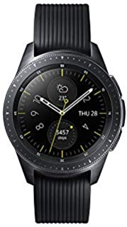 Samsung SMR810-MDBK Galaxy Watch 42mm - Midnight Black, (Pack of 1)