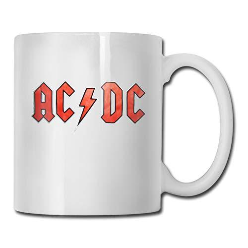 Taza de cerámica de moda taza de café taza de porcelana taza de viaje de regalo de vajilla de 11 oz Acdc