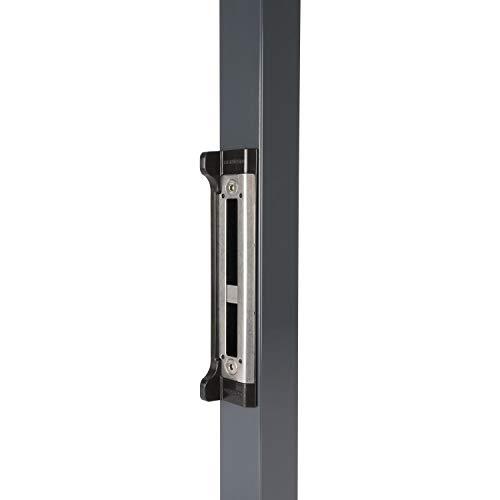 Schließblech mit Anschlag für Rohrrahmenschloss Fortylock,255x57,7x8mm,Edelstahl