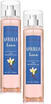 Bath and Body Works Max 54% OFF 2 Pack Vanilla Fine Fragrance 40% OFF Cheap Sale Bean O Mist. 8