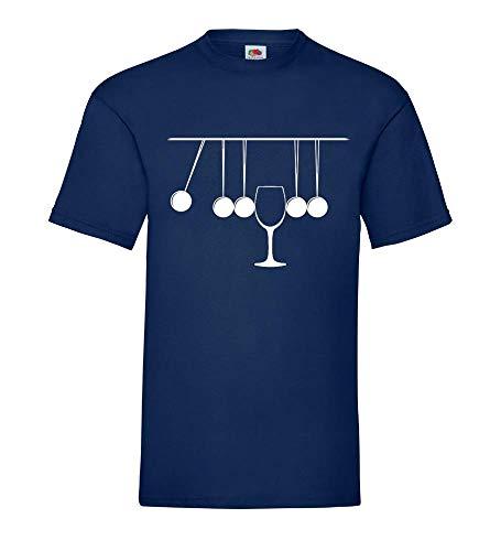 Kogelbus-pendel met glas mannen T-shirt - shirt84.de