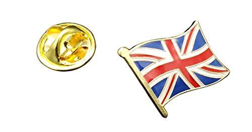 Gemelolandia   Pin de Solapa Bandera Mastil Reino Unido 16x15mm   Pines...