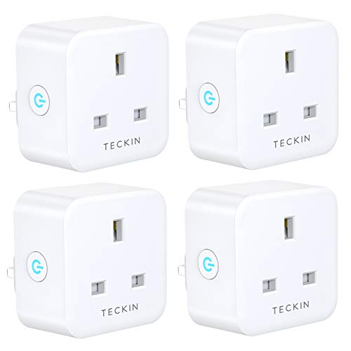 Teckin WiFi Smart Plug (UK) (4-pack) (from Amazon.co.uk)