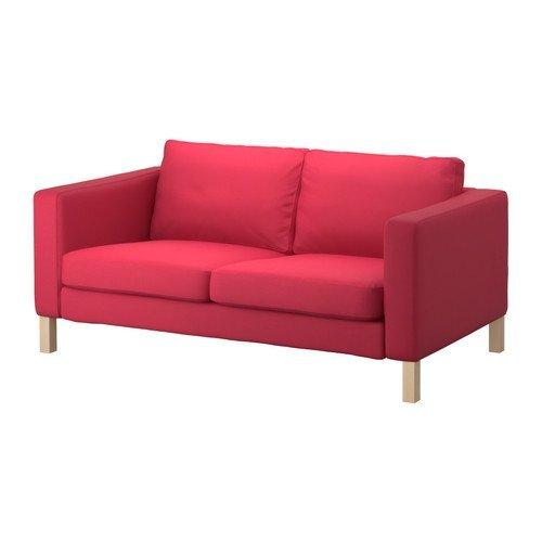 Unbekannt IKEA KARLSTAD Bezug für 2er Schlafsofa in Sivik rosarot Artnr. 202.031.53