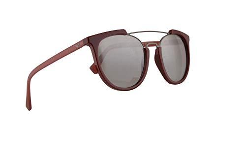 Emporio Armani EA4122 zonnebril Bordeaux w/Light Grey Mirror Gradient Zilver Lens 53mm 57216V EA 4122