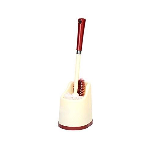 LWF Brosse de toilette de salle de bains à long manche pinceau souple en plastique simple brosse de mode (Couleur : A)