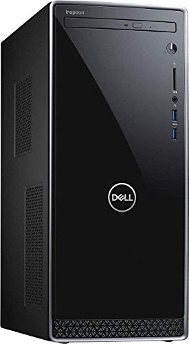2020 Newest Dell Inspiron Premium Biz Desktop: 9th gen Intel 6-Core i5-9400 16GB RAM 128GB SSD+1TB HDD WiFi, Bluetooth DVDRW HDMI VGA Intel UHD Windows 10 Pro 32GB PCS USB Card