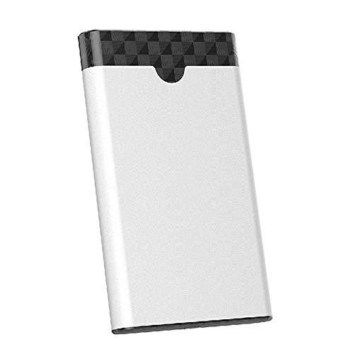 Accionamiento duro externo portátil 2TB / 1TB, USB-C y micro interfaz USB3.0 Unidad de disco duro de 2.5 pulgadas Adopta transmisión SATA3.0 6GBPS, adecuada para computadoras portátiles de escritorio
