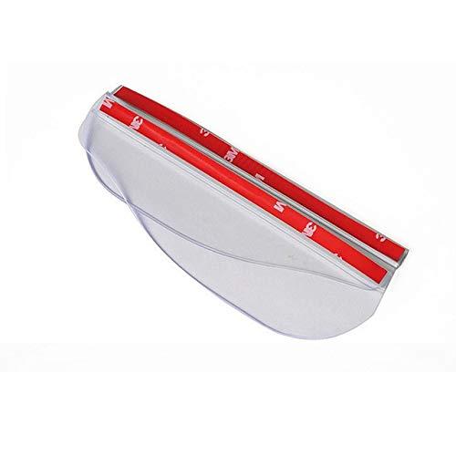 WSDSB 2pcs De Coches Espejo Retrovisor Lluvia Hojas De La Ceja Lateral Visera Shade Protector Espejo Posterior del Coche De La Guardia Lluvia Accesorios For Automóviles Cubierta de la Tapa del Espejo