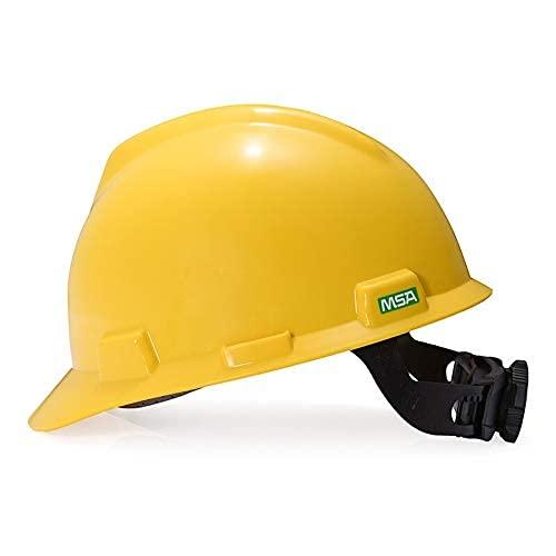 SONGYU Casco Tipo VA de MSA ABS Anti-caída Rotura Obra de construcción Uso de Sombrero de Trabajo de ingeniería (Color: D-1)