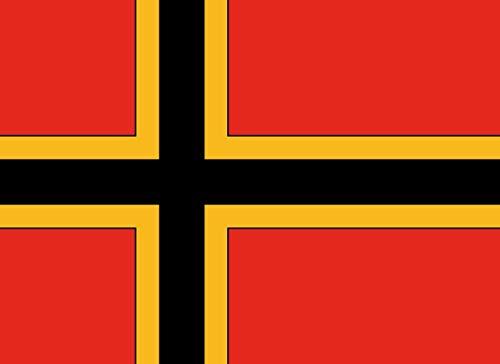 magFlags Flagge: XL Entwurf Einer Flagge für die Bundesrepublik Deutschland von Ernst Wirmer | Querformat Fahne | 2.16m² | 120x170cm » Fahne 100% Made in Germany