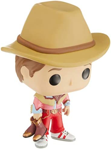 Funko Pop Movies Back to The Future Marty McFly Cowboy Outfit Exclusive 816 product image