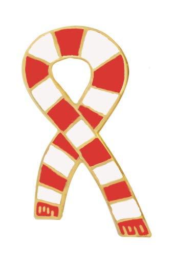 1000 bandiere Crawley Town sciarpa da calcio stile retrò dorato spilla