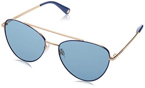 Love Moschino Damen MOL011/S Sonnenbrille, Blau (AZURE), 59