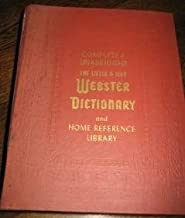 Complete and Unabridged: The Little & Ives Webster Dictionary & Home Reference Library {Int'l. Illustrated Edition}{Second Printing}