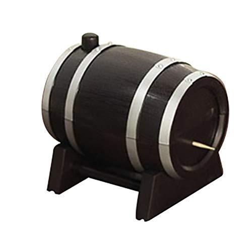 WNDRZ Creativa Prensa Automática Barril De Vino Plástico Palillo Caja Contenedor Dispensador Titular